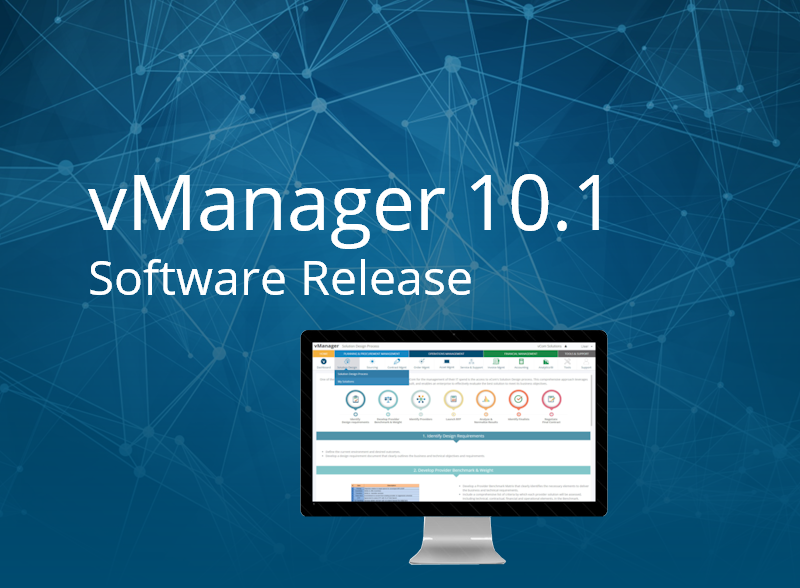 vManager 10.1 Release