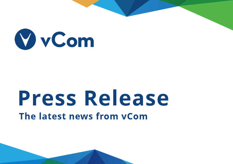 vcom announces record growth recurring IT spend