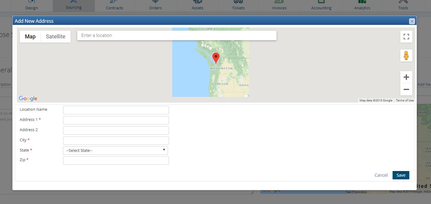 vManager 11.1 Location Fix