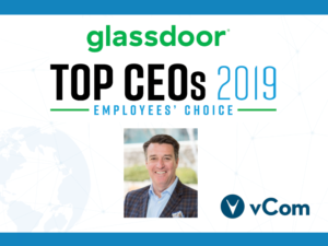 Glassdoor Top CEO vCom Gary Storm