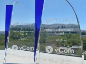 Top 10 partner for UCaaS by Telarus