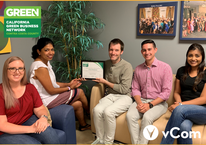 vCom Green Business Award 2019